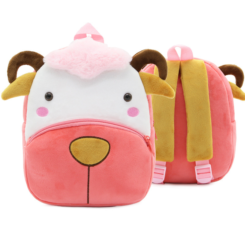 Kindergarten School Backpack Sheep Animal School Bag For Toddlers Kids
