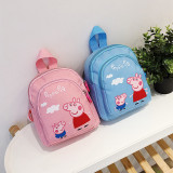 Kindergarten School Backpack Peppa Pig School Bag For Toddlers Kids
