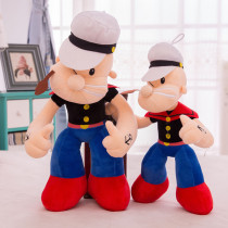 Popeye Soft Stuffed Plush Animal Doll for Kids Gift