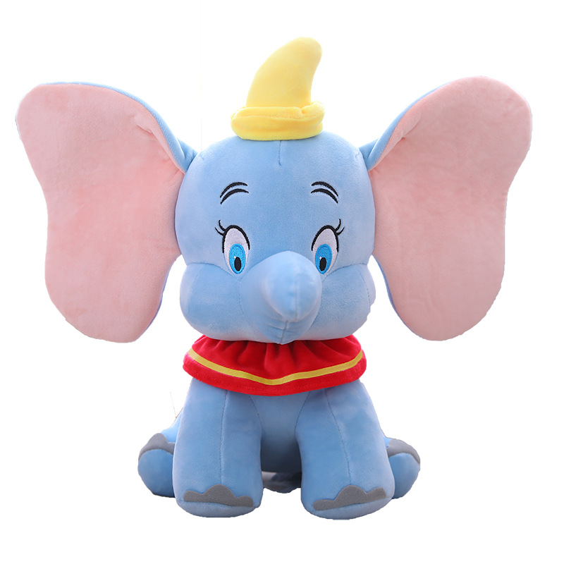 Blue Dumbo the Flying Elephant Soft Stuffed Plush Fruit Doll for Kids Gift