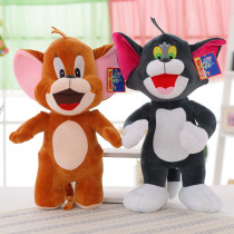Tom and Jerry (Cat and Mouse) Soft Stuffed Plush Animal Doll for Kids Gift