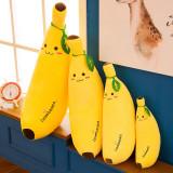 Yellow Banana Soft Stuffed Plush Fruit Doll for Kids Gift