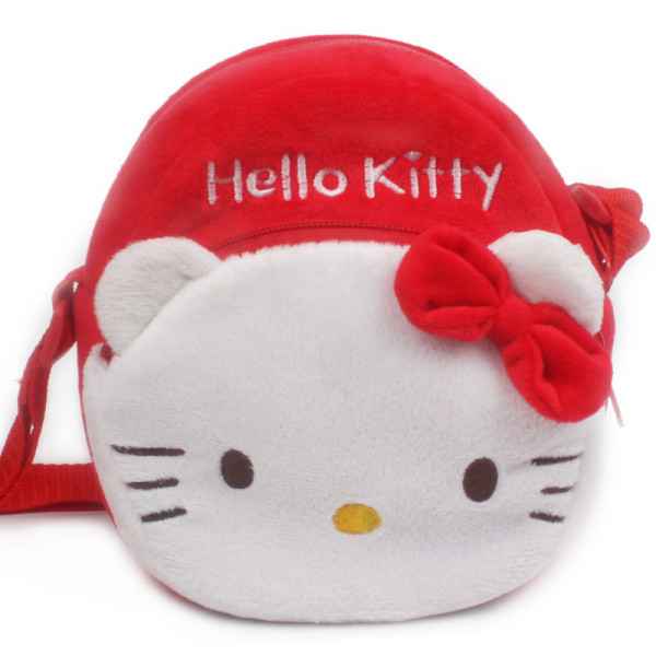 Pink Hello Kitty Circle Crossbody Shoulder Bags for Toddlers Kids