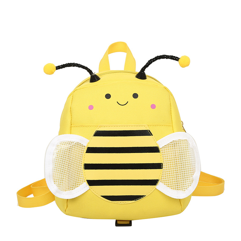 Cute Bee Kindergarten Bag For Toddlers Kids