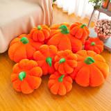 Halloween Pumpkin Soft Stuffed Plush Vegetables Doll for Kids Gift