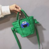 Sesame Street Fashion Crossbody Shoulder Bags for Toddlers Kids