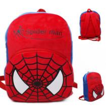 Kindergarten School Backpack Red Spider Man School Bag For Toddlers Kids