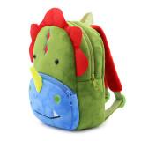 Kindergarten School Backpack Green Dinosuar Animal School Bag For Toddlers Kids