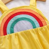 Toddler Girls Rainbow Summer Slip A-line Dress