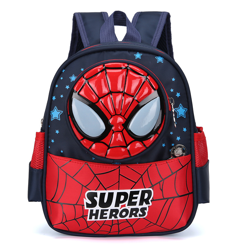 Kindergarten School Backpack Marvel Spider Man Captain America School Bag For Toddlers Kids