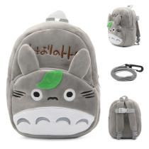 Kindergarten School Backpack Grey Totoro School Bag For Toddlers Kids