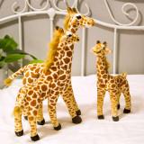 Brown Giraffe Soft Stuffed Plush Animal Doll for Kids Gift