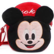 Mickey Mouse Minnie Plush Circle Crossbody Shoulder Bags for Toddlers Kids