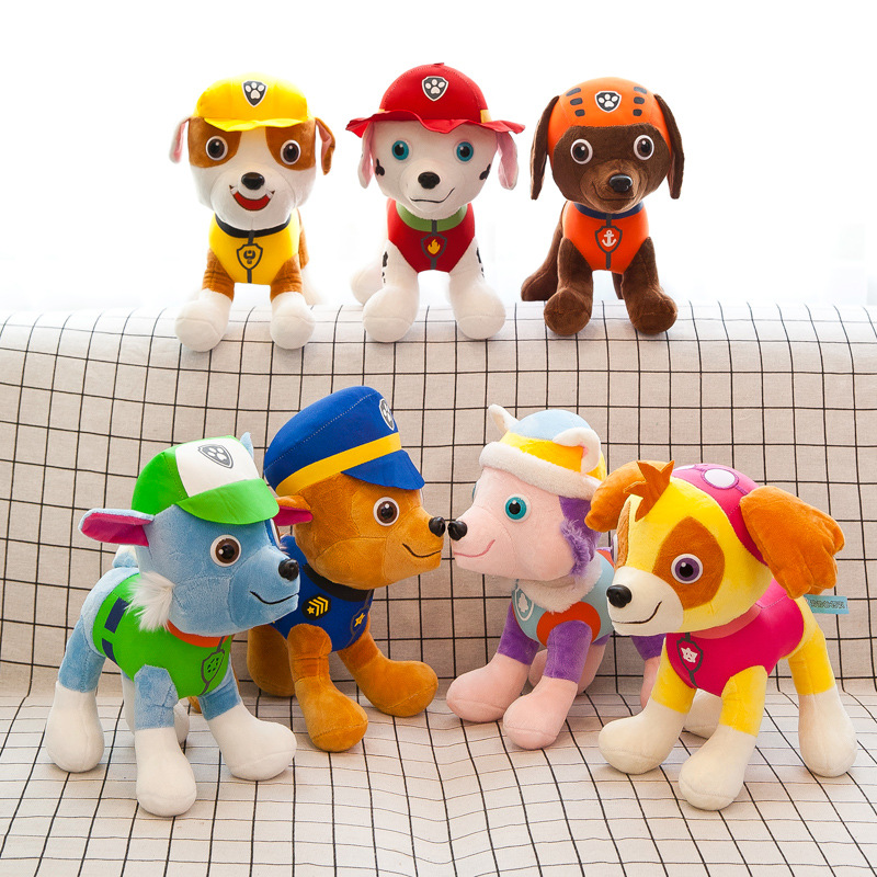 PAW Patrol Dog Stuffed Plush Animal Doll for Kids Gift