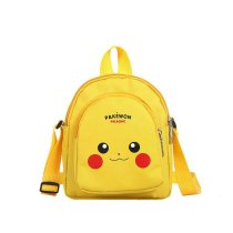 Yellow Pikachu Pokemon Fashion Crossbody Shoulder Bags for Toddlers Kids