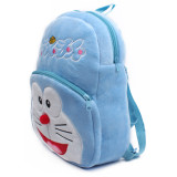 Kindergarten School Backpack Blue Doraemon School Bag For Toddlers Kids