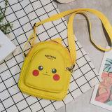 Yellow Pikachu Pokemon Fashion Crossbody Shoulder Bags for Toddlers Kids