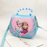 Frozen Princess Fashion Crossbody Shoulder Bags for Toddlers Kids Girl