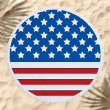 The American National Flag Cotton Beach Towel Blanket Table Cover Wall Hanging