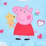 Toddler Girls Print Peppa Pig Hearts Sleeveless A-line Dress