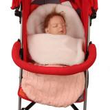 Newborn Baby Wrap Swaddle Knit Blanket Thick Fleece Sleeping Bag