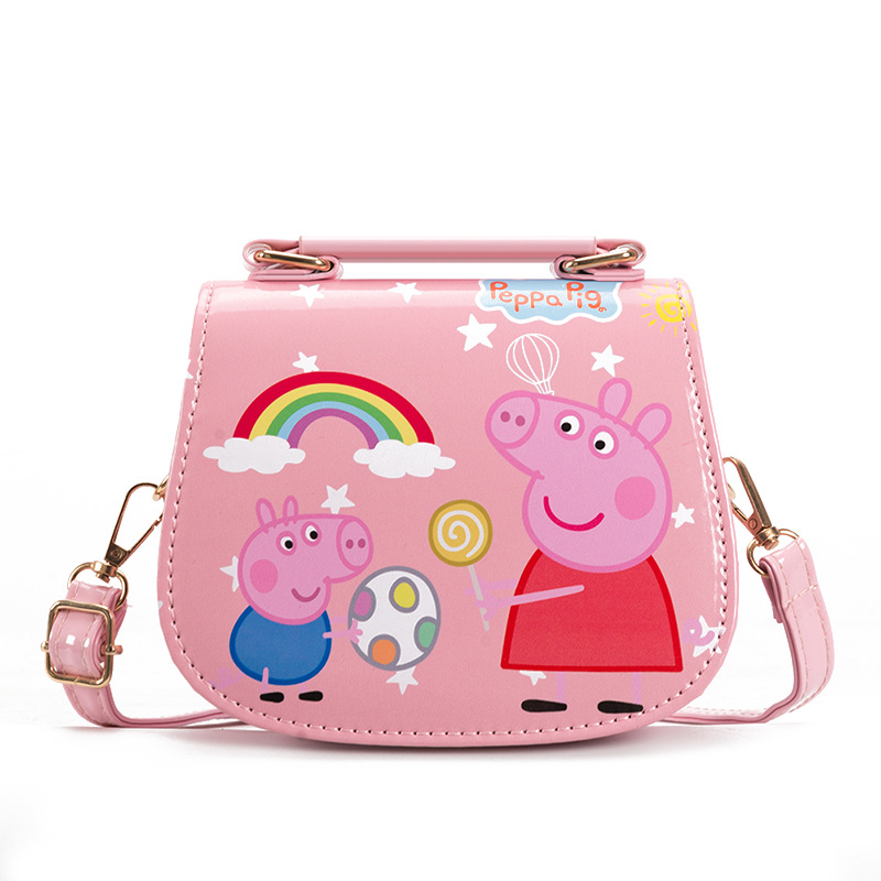 Peppa Pig Crossbody Shoulder Handbag for Toddlers Kids