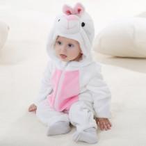 Baby Rabbit Onesie Kigurumi Pajamas Kids Animal Costumes for Unisex Baby