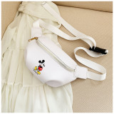 Mickey Mouse Crossbody Shoulder Waist Pack Bag for Toddlers Kids