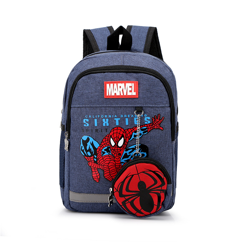 School Backpack Spider Man School Bag For Kids