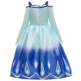 Toddler Girls Frozen 2 Elsa Off The Shoulder Princess Dress