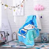 Print Doraemon Thicken Blanket Sleeping Cape