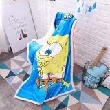 Print SpongeBob Thicken Blanket Sleeping Cape