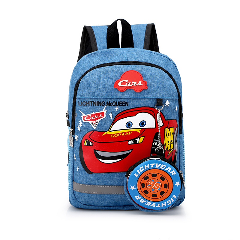 School Backpack Cars School Bag For Kids