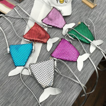 Glitter MerMaid Crossbody Shoulder for Toddlers Kids