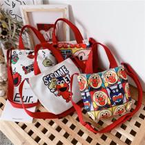 Sesame Street Crossbody Shoulder Canvas Handbag for Toddlers Kids