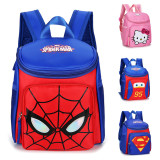 Kindergarten School Backpack Hello Kitty Spider Man School Bag For Toddlers Kids
