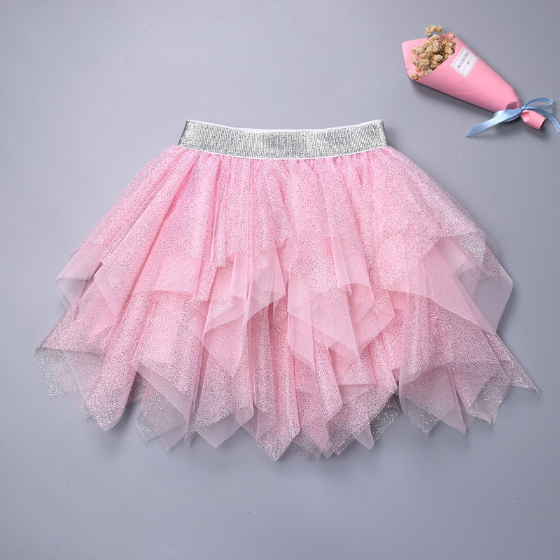 Toddler Kid Girl Irregular Tutu Skirt