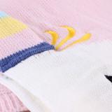 Print Knit Unicorn Sleeping Blanket