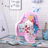 Print Hello Kitty Teddy Bear Thicken Blanket Sleeping Cape