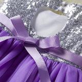 Toddler Kids Girls Sequins Heart Backless Tutu Party Dress