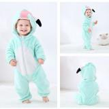 Flamingo Baby Onesie Kigurumi Pajamas Kids Animal Costumes for Unisex Baby
