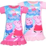 Toddler Girls Print Peppa Pig Sleep Dress