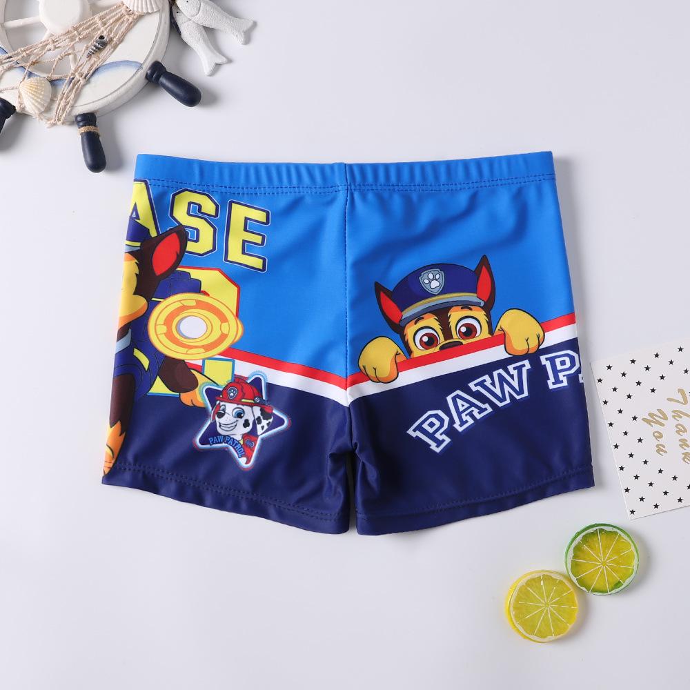 Kid Boys Print PAW Patrol Swimwear Trunks Swim Boxer Shorts