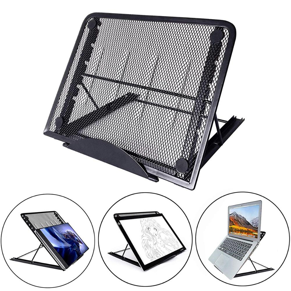 Mesh Ventilated Adjustable Portable Folding Laptop Stand