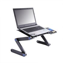 Portable Adjustable Foldable Computer Notebook Stand Laptop Table Desk