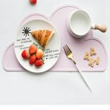Cloud Shape Placemat Food Grade Silicone Table Waterproof Pad