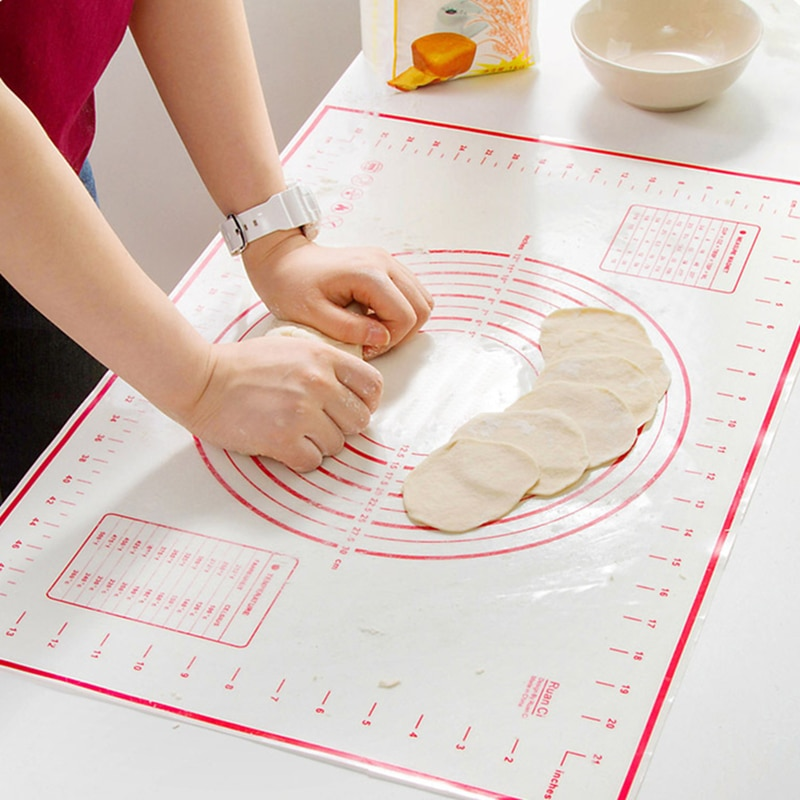 Silicone Baking Mats Sheet Pizza Dough Non-Stick Maker Holder Pastry Gadgets Cooking Tools Utensils Bakeware