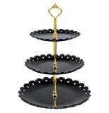 3 Tier Fruit Plate Cake Stand Birthday Party Decor Afternoon Tea Wedding Plates Tableware Dessert Rack