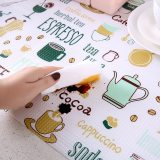 2M Prints Flamingos Kitchen Stickers Oil-proof Waterproof Table Mat Placemat
