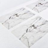 Waterproof Placemat Anti-skid Insulation High Temperature Marble Stripe Mat